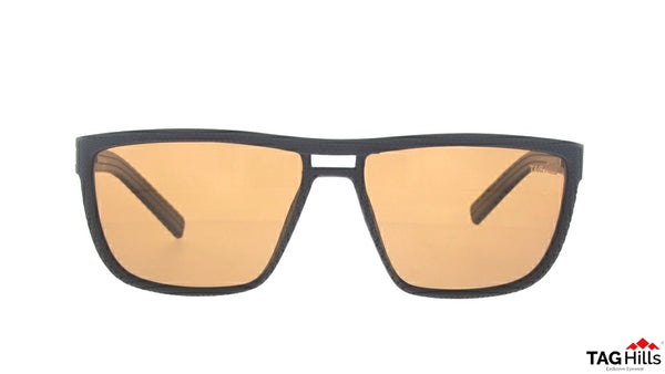 TAG Hills TG S 10235 TG-S-10235 Brown Large Aviator Full Rim UV Polarised Sunglasses