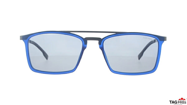 TAG Hills TG S 10378 009 TG-S-10378 Blue Medium Aviator Full Rim UV Polarised Sunglasses