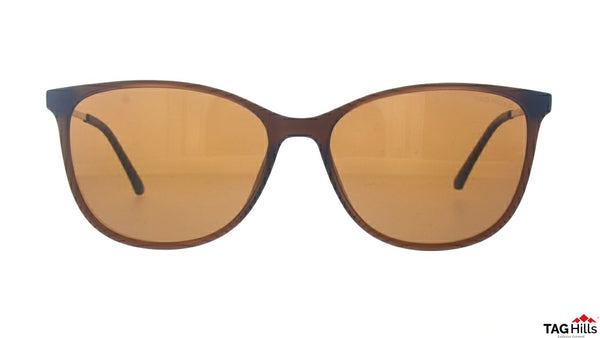 TAG Hills TG S 10400 002 TG-S-10400 Brown Medium Cat Eye Full Rim UV Polarised Sunglasses