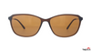 TAG Hills TG S 10403 008 TG-S-10403 Brown Medium Cat Eye Full Rim UV Polarised Sunglasses