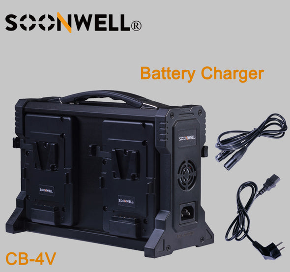 SOONWELL CB-4V 4 Channel Sony V-mount battery Charger