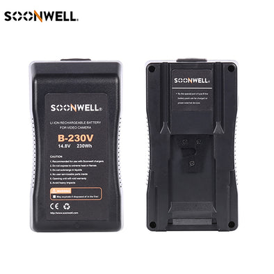 V Mount Battery 230Wh 14.8V - SOONWELL B-230V