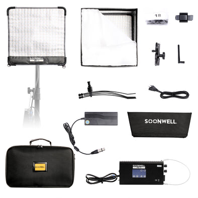 Flexible LED Video Light 1x1 ft - SOONWELL FB-11