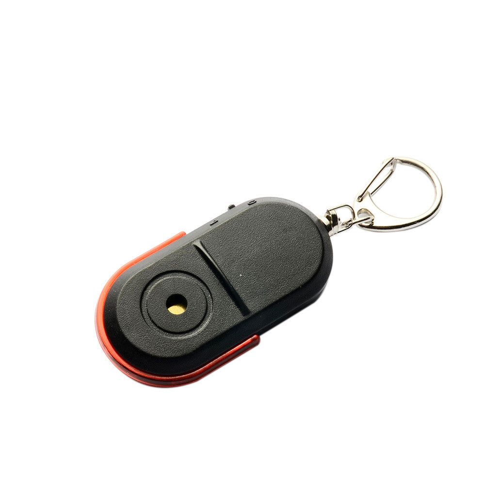 Security & Protection Whistle Sound Led Light Anti-lost Alarm Key Finder Locator Keychain Device Random Color