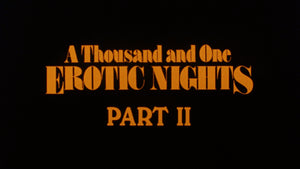 A Thousand and One Erotic Nights 1 & 2