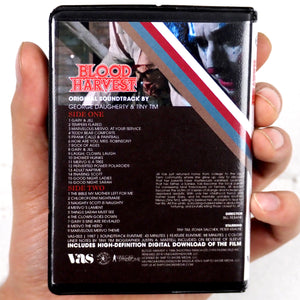 Blood Harvest - Soundtrack Cassette