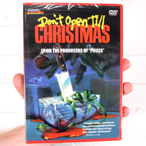 Don't Open Till Christmas [Mondo Macabro]