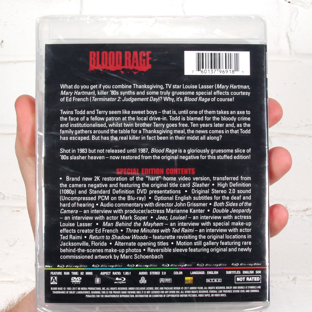 Blood Rage [Arrow Video]
