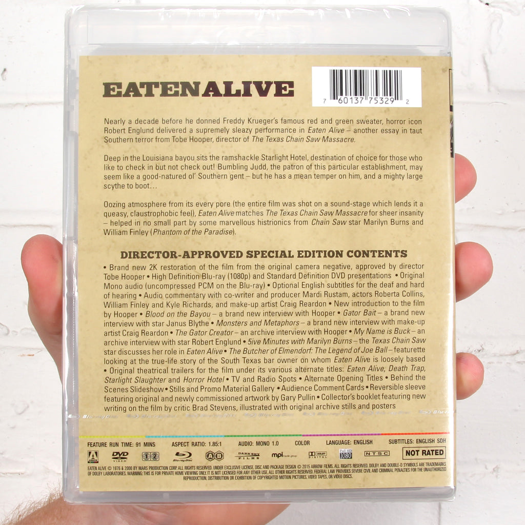 Eaten Alive [Arrow Video]