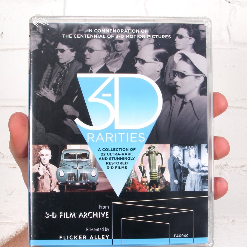 3-D Rarities [Flicker Alley Films]