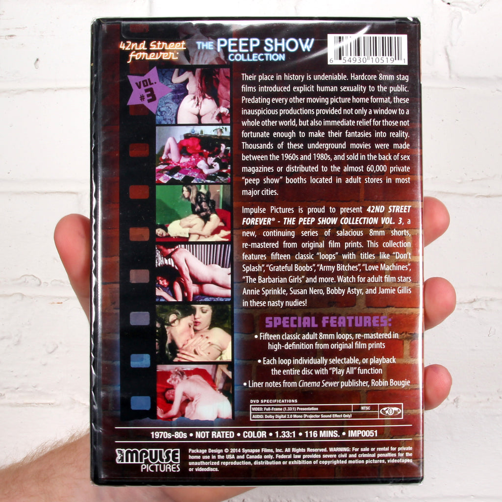 42nd Street Forever: The Peep Show Collection Vol.3 [Synapse Films]