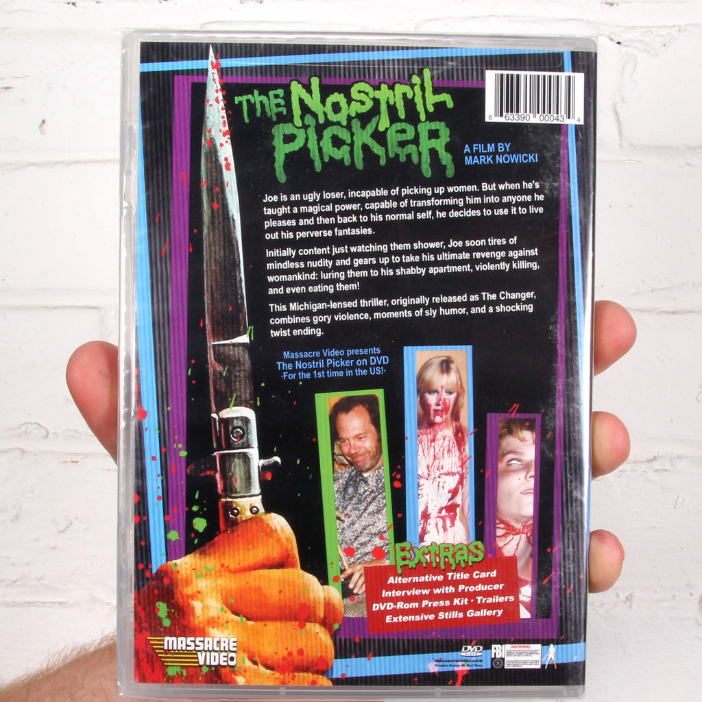 The Nostril Picker [Massacre Video]