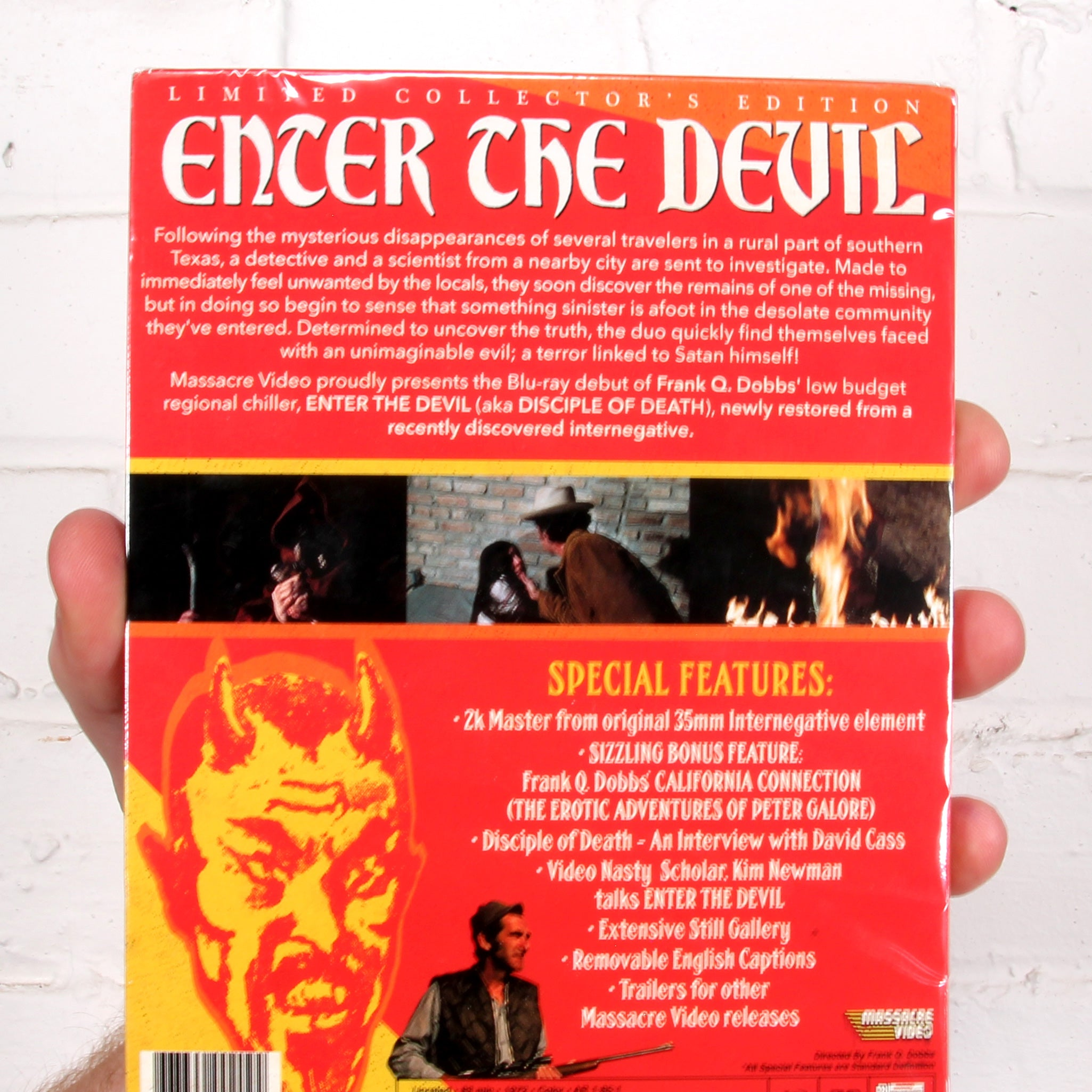 Enter the Devil (Slipcover) [Massacre Video]