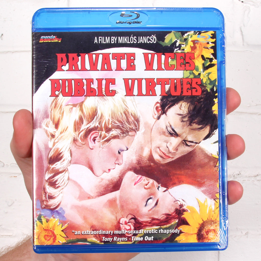 Private Vices Public Virtues [Mondo Macabro]
