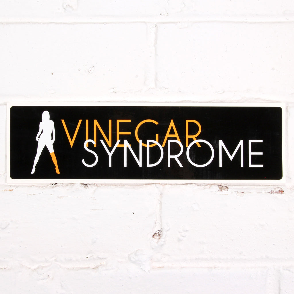 Vinegar Syndrome Bumper Sticker