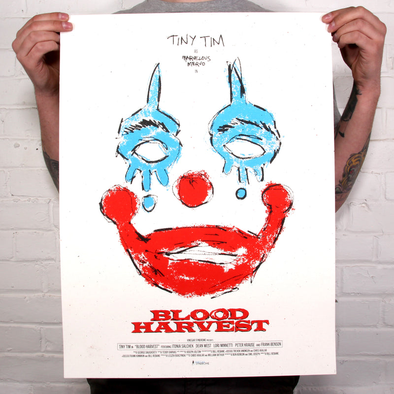 Blood Harvest - Limited Edition Screen Print