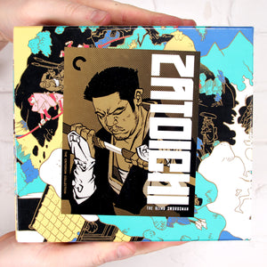 Zatoichi: The Blind Swordsman (9 Blu-ray Deluxe Set) [The Criterion Collection]