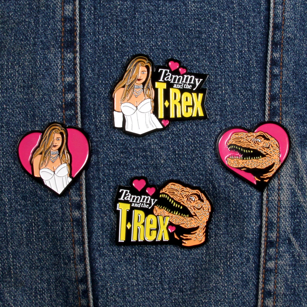 Tammy and the T-Rex - Enamel Pins