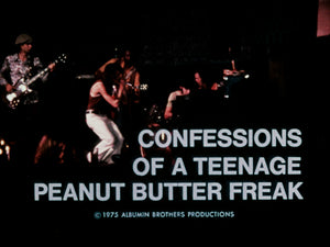 Confessions of a Teenage Peanut Butter Freak
