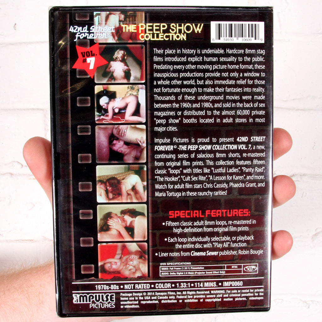 42nd Street Forever: The Peep Show Collection Vol.7 [Synapse Films]