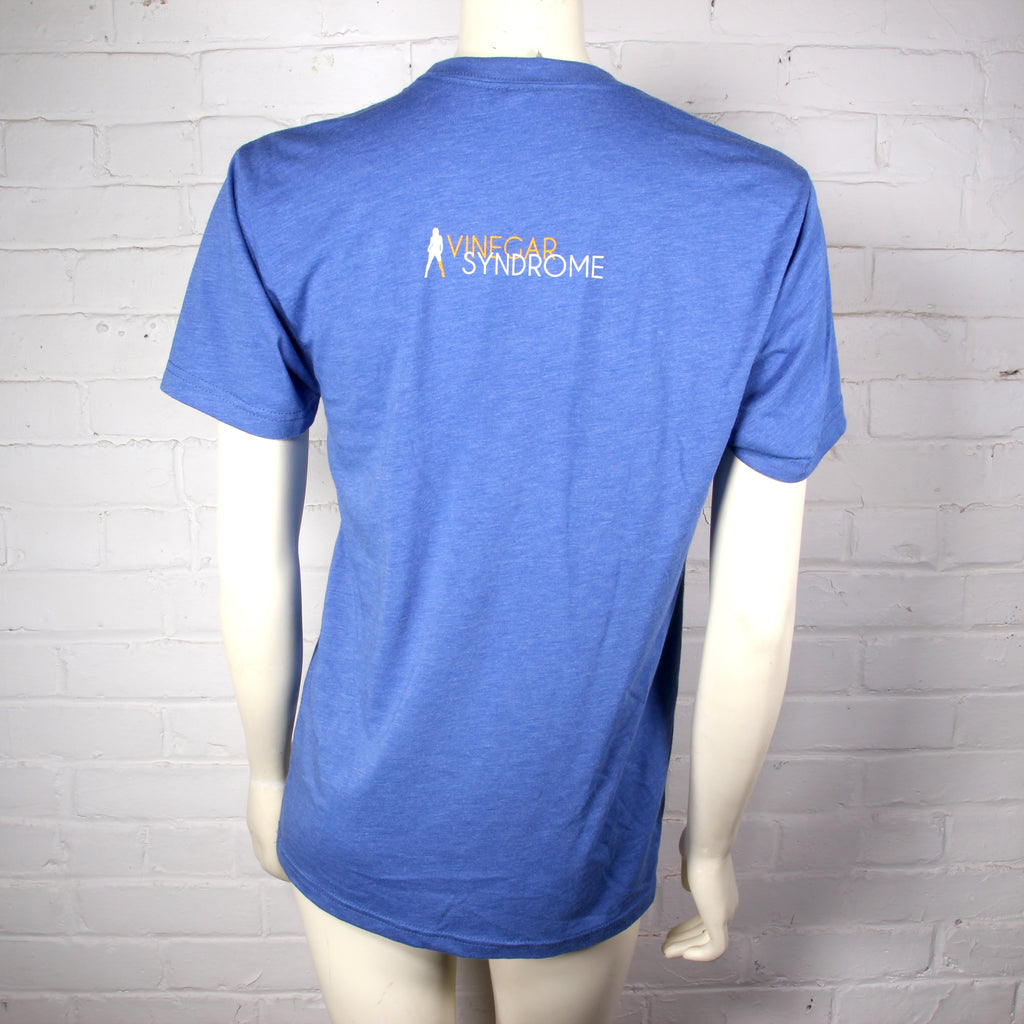 Vinegar Syndrome Logo Shirt (Blue)