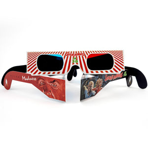 Silent Madness - 3-D Anaglyph Glasses