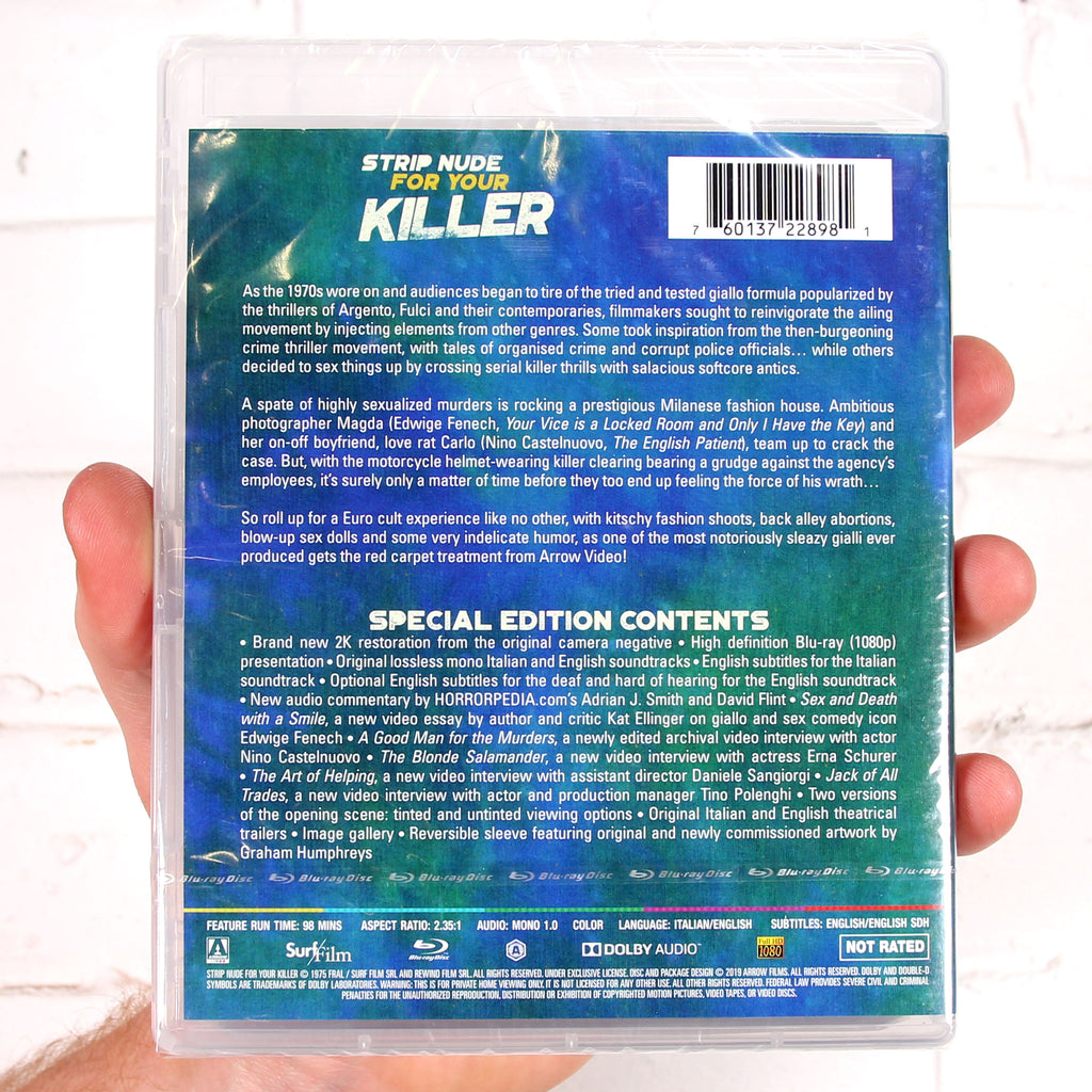 Strip Nude For Your Killer [Arrow Video]