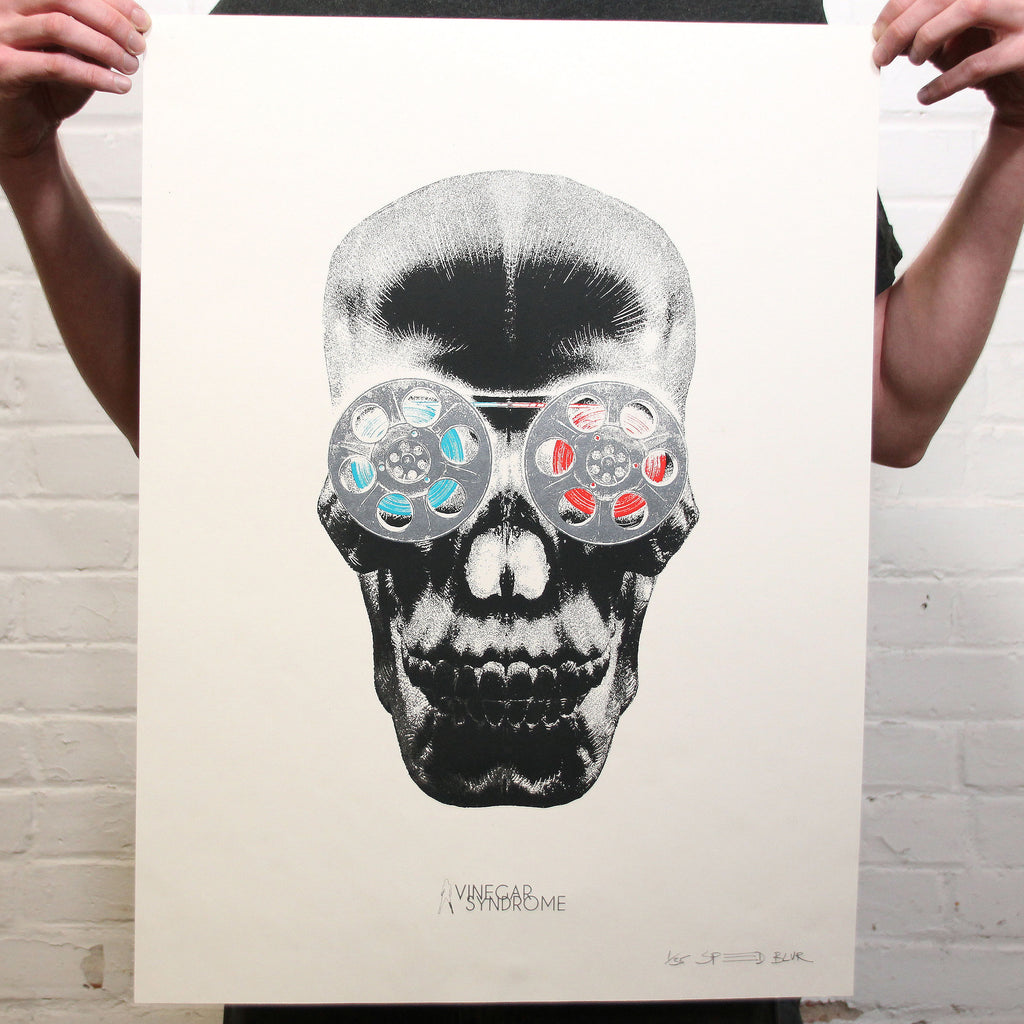 VS Portrait Series 'Cranialvision' - Negative Variant Screen Print