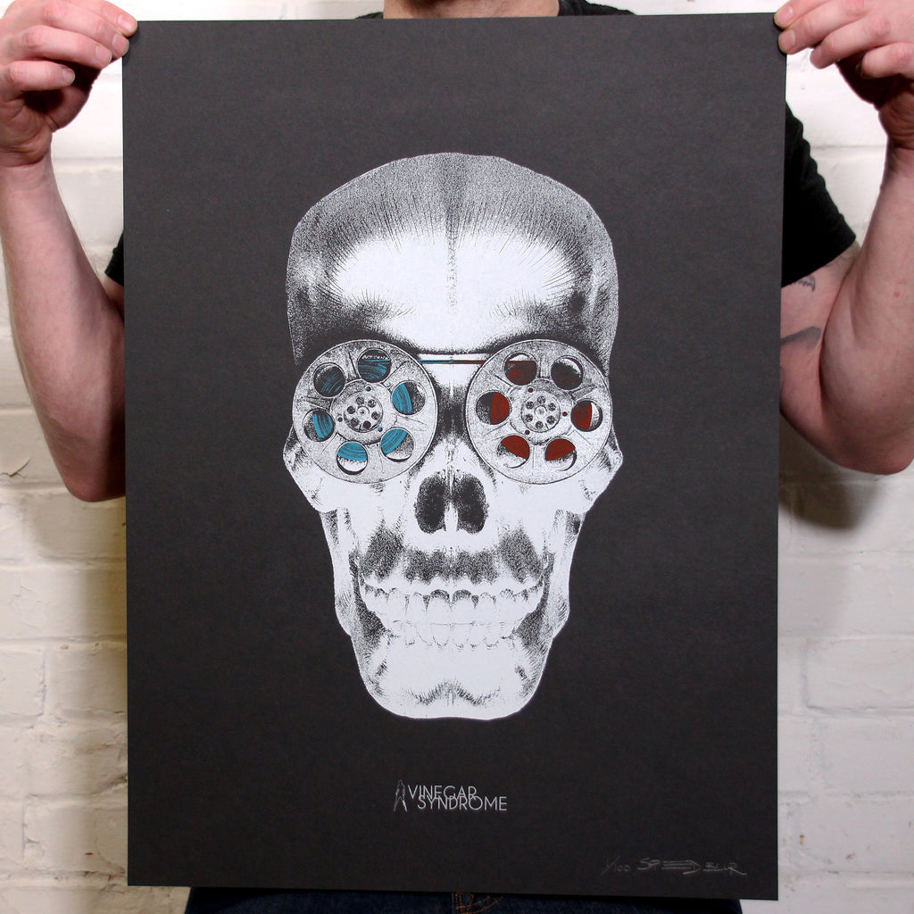 VS Portrait Series 'Cranialvision' - Standard Edition Screen Print