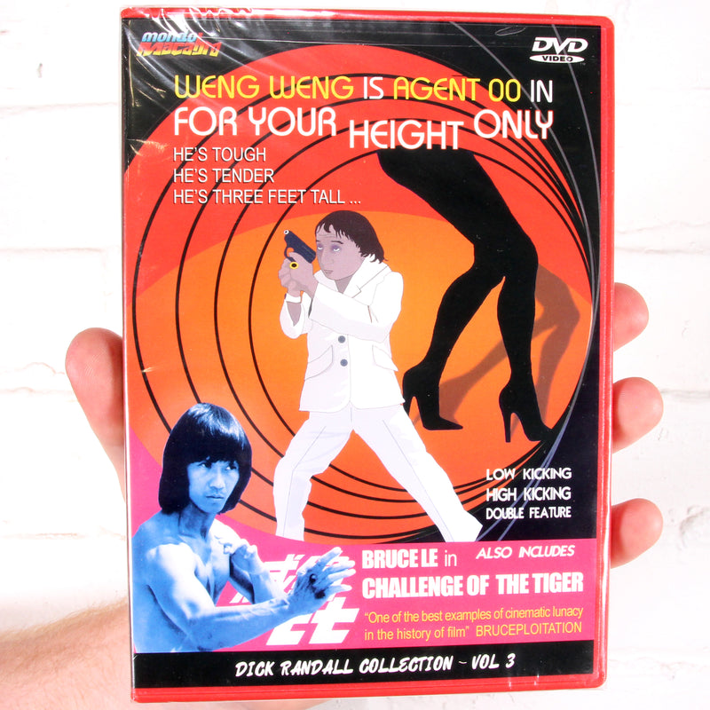 For Your Height Only / Challenge of the Tiger [Mondo Macabro]