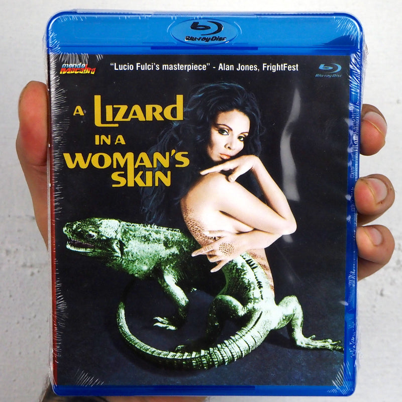 A Lizard in a Woman's Skin [Mondo Macabro]