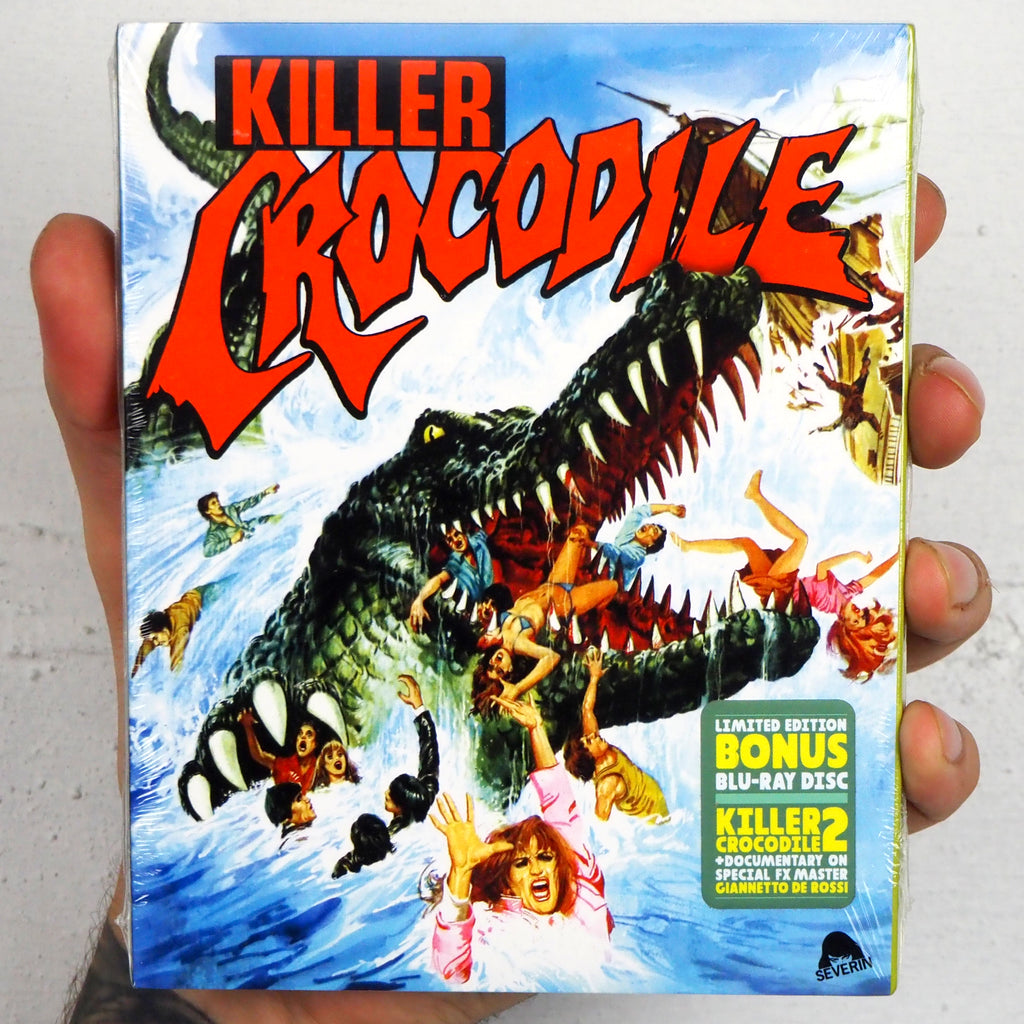 Killer Crocodile 1 & 2 (Slipcover) [Severin Films]