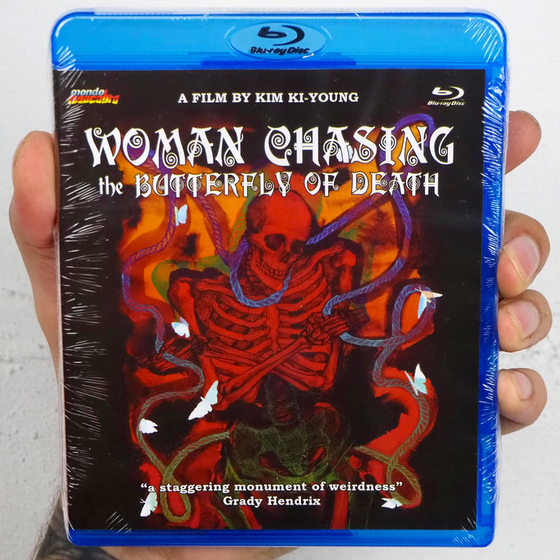 Woman Chasing the Butterfly of Death [Mondo Macabro]