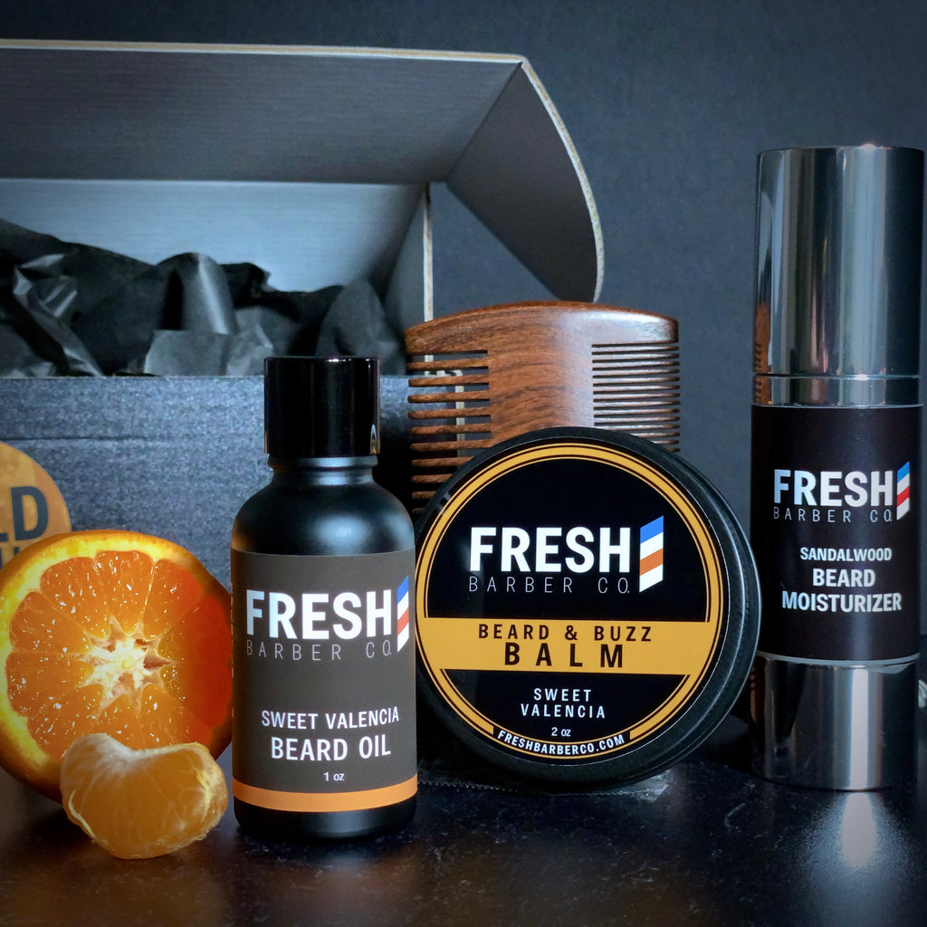The Beard Box: Wild Citrus - Fresh Barber Co.