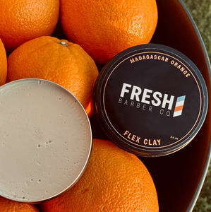 Flex Clay Madagascar Orange - Fresh Barber Co.