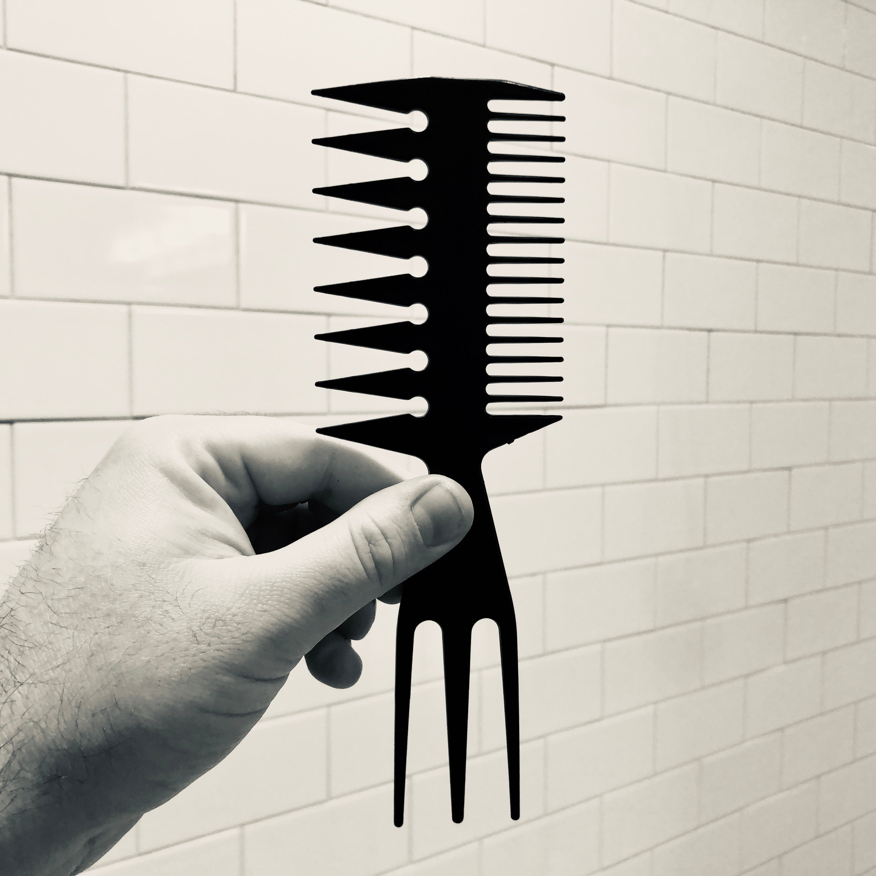 Double-sided Texture Comb - Fresh Barber Co.