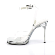 Load image into Gallery viewer, CHIC-06 Elegant 4.5 Inch High Heels Transparent Competition Sandals