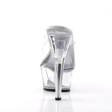 Load image into Gallery viewer, KISS-201 Pleaser 6 Inch High Heels Clear Pole Dancing Platforms