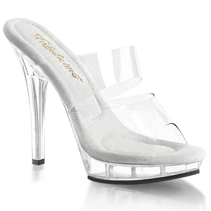 LIP-102 Elegant 5 Inch High Heels Clear Competition Shoes