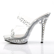 Load image into Gallery viewer, LIP-102RS Elegant 5 Inch High Heels Clear Posing Comp Sandals