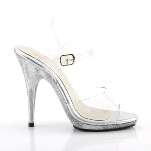 POISE-508MG Elegant 5 Inch High Heels Clear Sexy Shoes