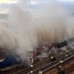 Extreme Weather: Coastal Flooding UK Winter storms