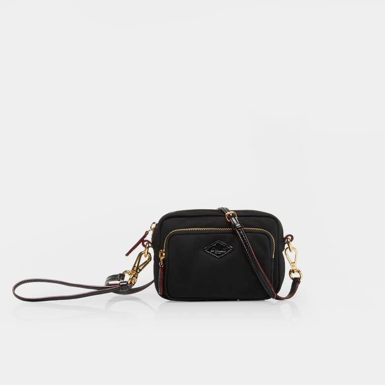MZ Wallace - Gramercy Crossbody (Black Air)