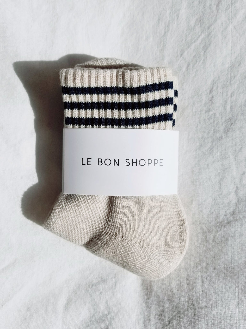 Le Bon Shoppe - Girlfriend Socks (Oatmeal)