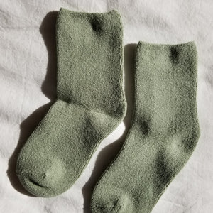 Le Bon Shoppe - Cloud socks (matcha)