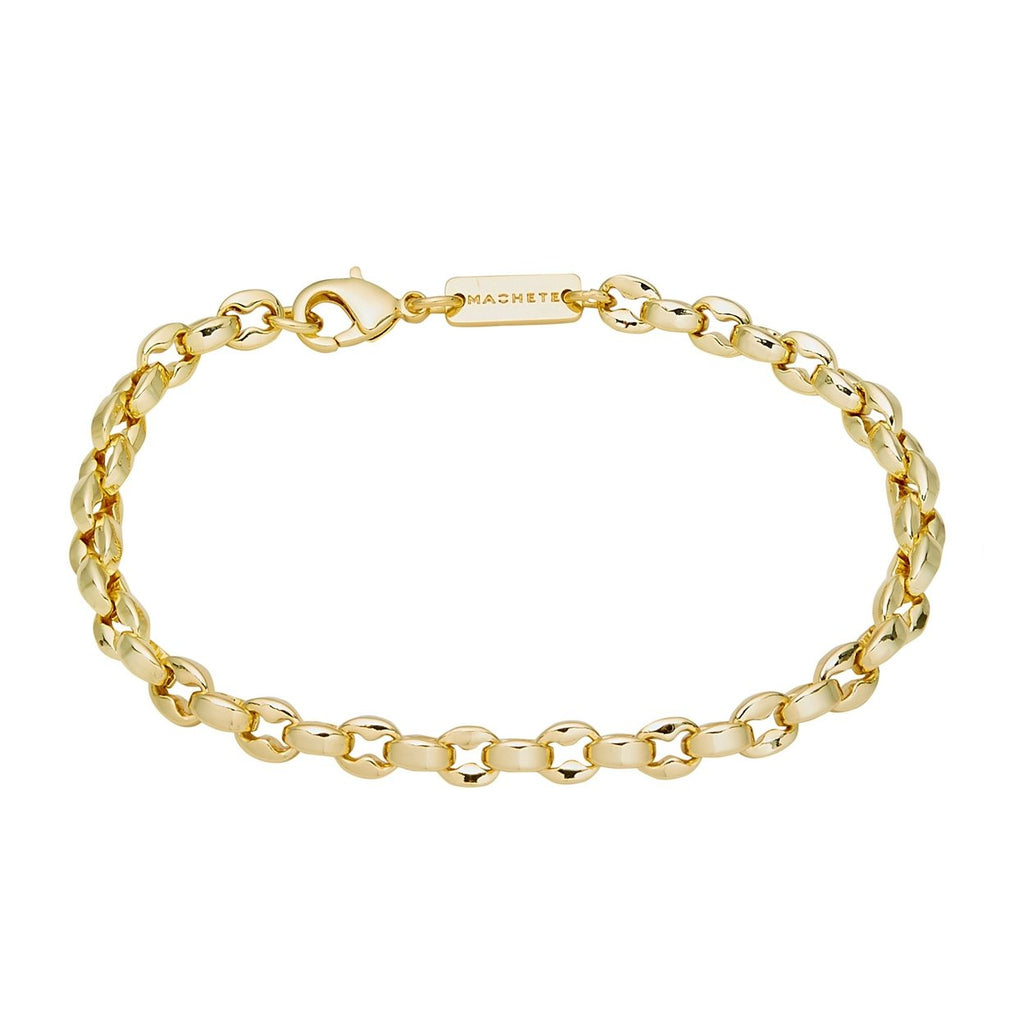 Machete - Nautical Bead Bracelet (Gold)
