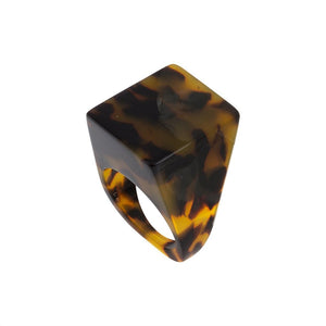 Machete - Icon Statement Ring (Tortoise)