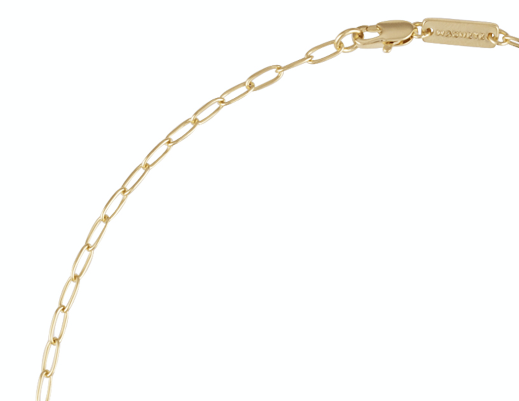 Machete - Petite Oval Link Necklace (Gold)