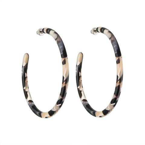 Machete - Large Hoops (Abalone)