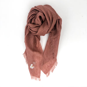 Destin - Flower Scarf (Pink)